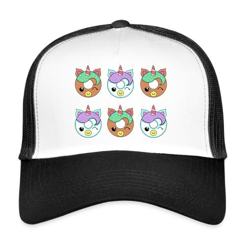 Unicorn Donut - Trucker Cap