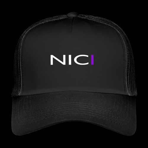 NICI logo WHITE - Trucker Cap