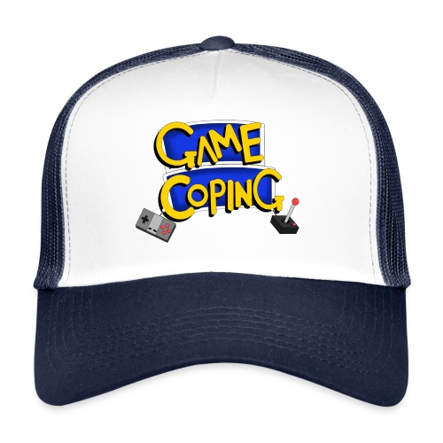 Game Coping Logo - Trucker Cap