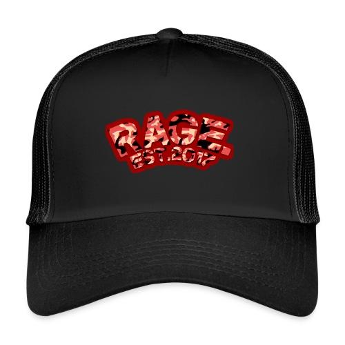 RAGE EST .2017 RED - Trucker Cap
