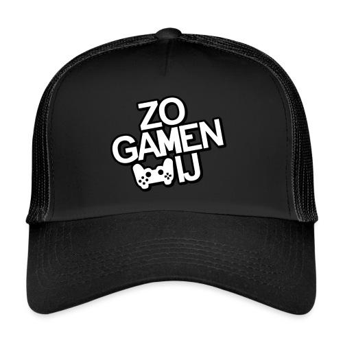 ZoGamenWij Logo - Trucker Cap