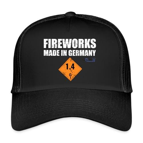Feuerwerk aus Deutschland Pyrotechnik - Trucker Cap