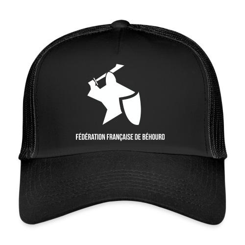 logo france behourd blanc png - Trucker Cap