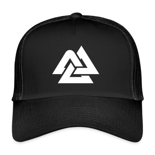Valknut_logo_blank2 - Trucker Cap