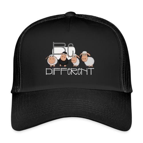 Coole Be different Schafe Gang - Gute Laune Schaf - Trucker Cap