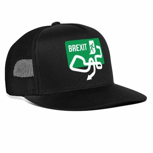Brexit Exit Sign - Trucker Cap