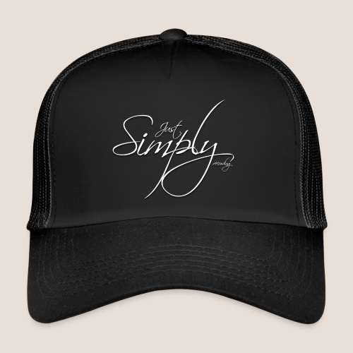 Just Simply Accessory White - Trucker Cap