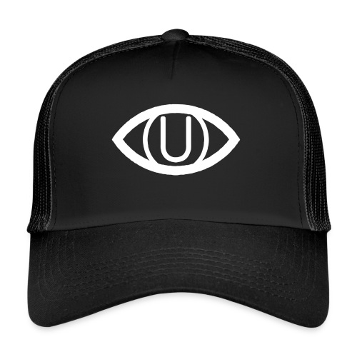 EYE SYMBOL WHITE - Trucker Cap
