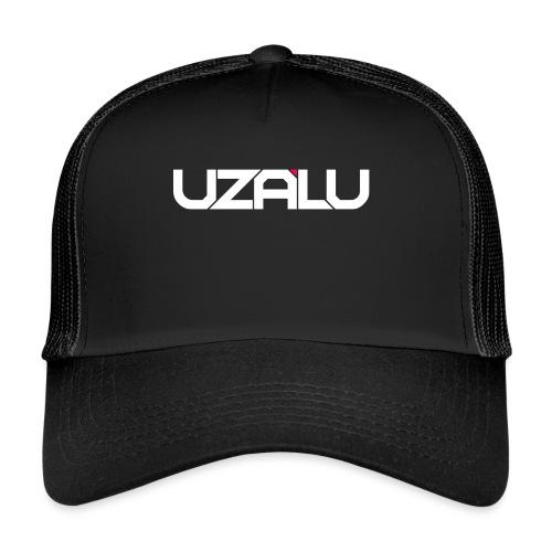 uzalu Text Logo - Trucker Cap