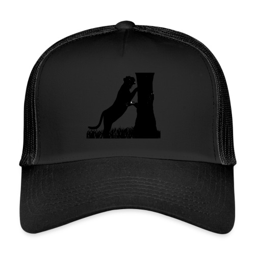 Tiger On A Tree - Trucker Cap