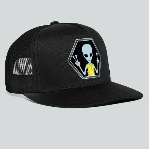 Extraterrestre Gilet jaune - Trucker Cap