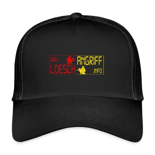 logo2014rotgelb png - Trucker Cap