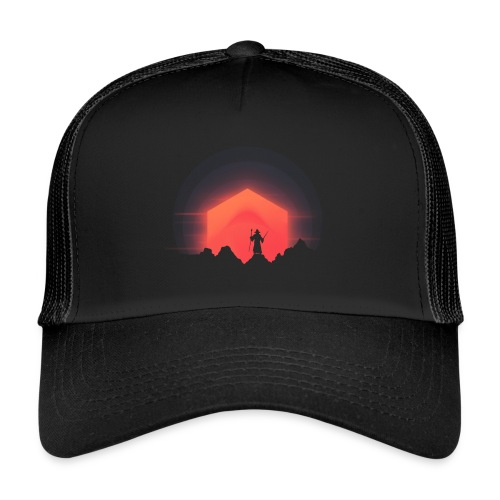 The Nightly Adventure D20 - DnD Dungeons Dragons - Trucker Cap