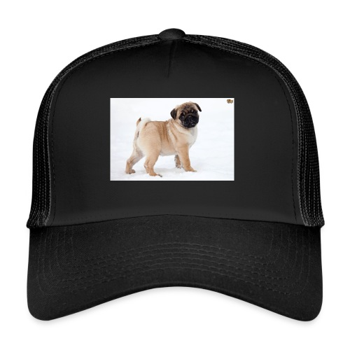 walker family pug merch - Trucker Cap