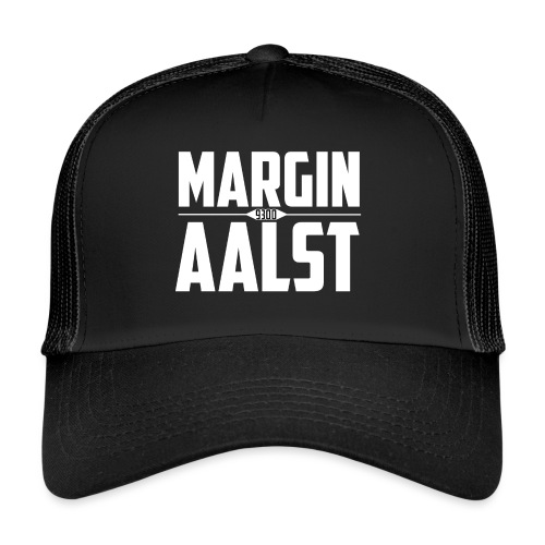 MARGINAALST wit - Trucker Cap