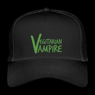 Fantasía / vampiro / Drácula: Vampiro vegetariano - Gorra de camionero