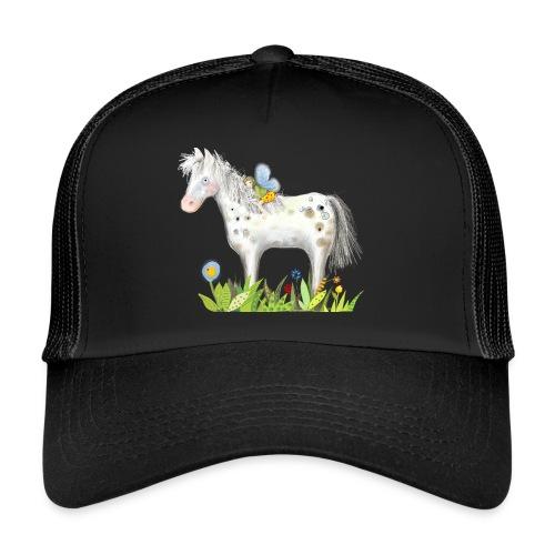 Fee. Das Pferd und die kleine Reiterin. - Trucker Cap