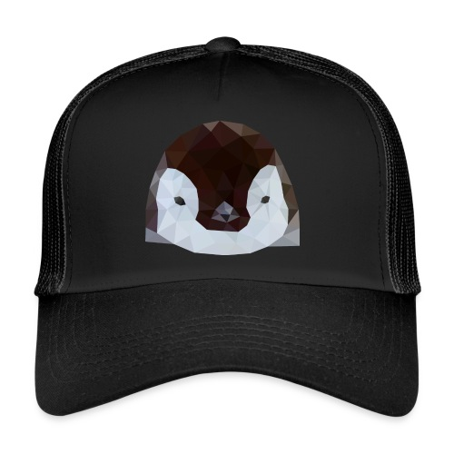 Pinguin Baby Polygon Art - Trucker Cap