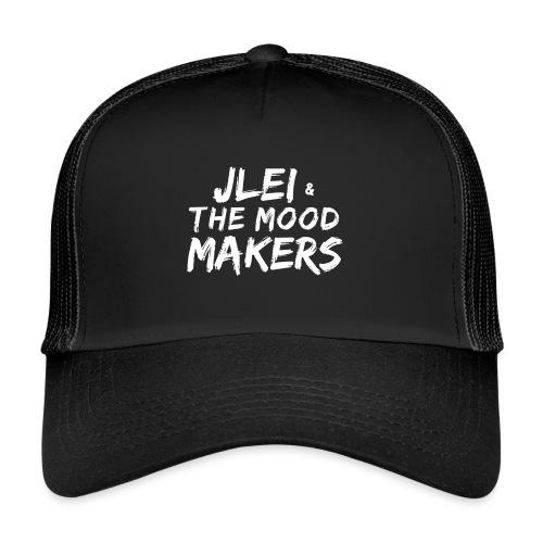 Jlei & The Mood Makers Schriftzug Weiss - Trucker Cap