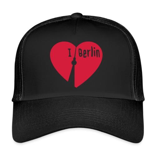 I love Berlin (1-farbig) - Trucker Cap