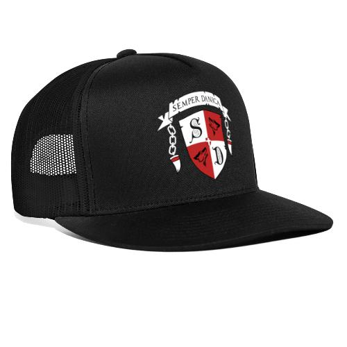 SD logo - hvide lænker - Trucker Cap
