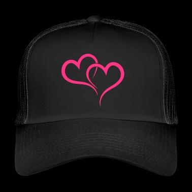 dwa serca - Trucker Cap