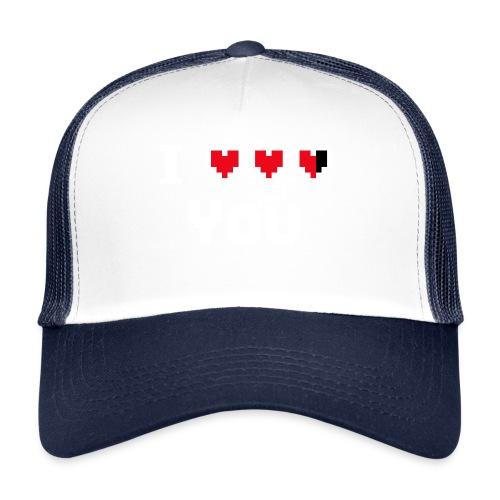 I pixelhearts you - Trucker Cap