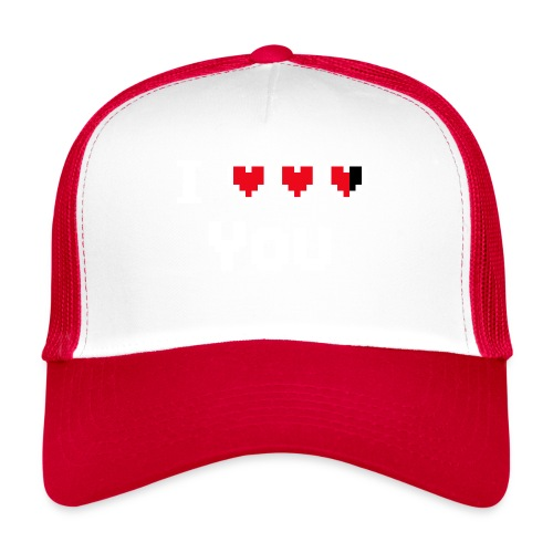I pixelhearts you - Trucker Cap