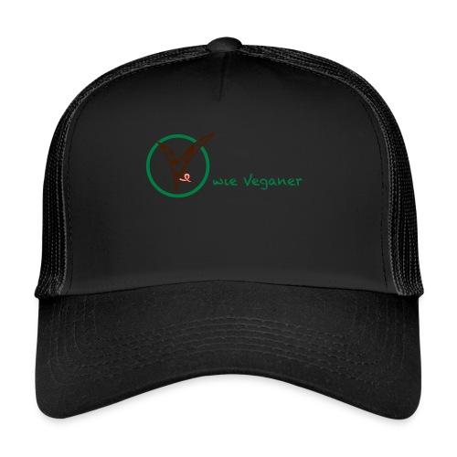 V wie Veganer - Trucker Cap