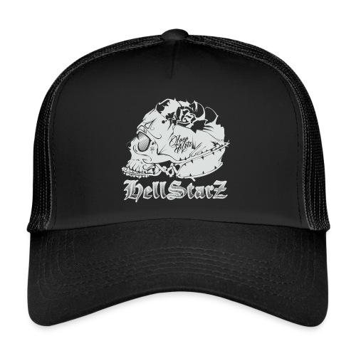 HELLSTARZ Skull Logo - Trucker Cap