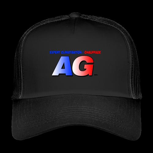 AG climatisation LOGO - Trucker Cap
