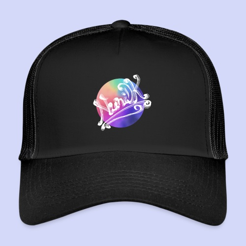 pastel rainbow, NuniDK Collection - Female top - Trucker Cap