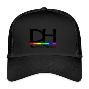 DH Health&Fitness Large logo - Trucker Cap