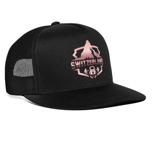 Swiss Mountain _ Rosegold - Trucker Cap