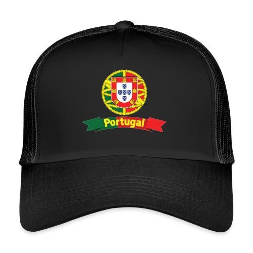 Portugal Campeão Europeu Camisolas de Futebol - Trucker Cap