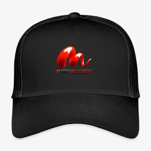 Logo Njoy Records Noir - Trucker Cap