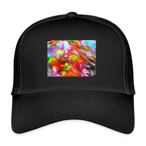 abstract 1 - Trucker Cap