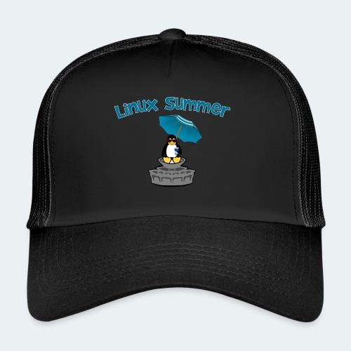 linux summer - Trucker Cap