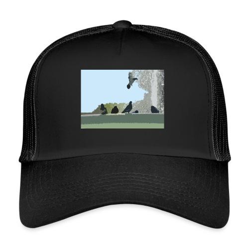Chillin' pigeons - Trucker Cap
