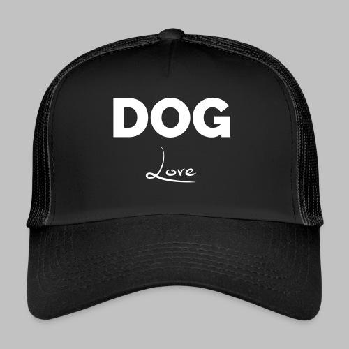 DOG LOVE - Geschenkidee für Hundebesitzer - Trucker Cap