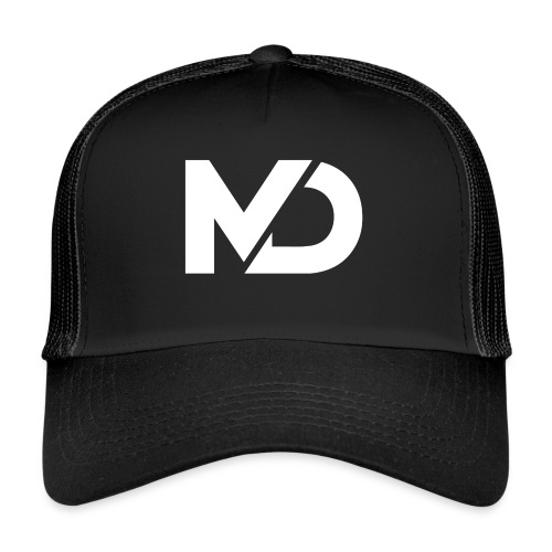 logo_wit - Trucker Cap