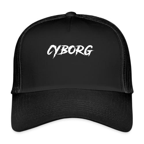 Sweat bordeaux à capuche Cyborg - Trucker Cap