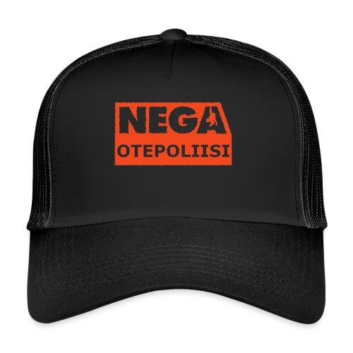 OtePoliisi pinssi iso - Trucker Cap