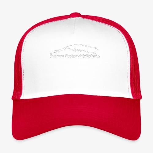 SUP logo valkea - Trucker Cap