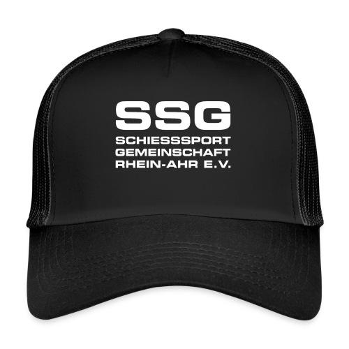 SSG EV LOGO 003 weiss - Trucker Cap
