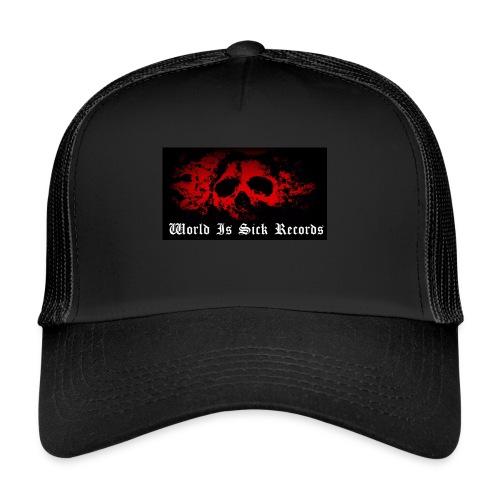 World Is Sick Skull Huppari - Trucker Cap