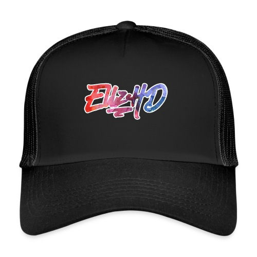 Tropical EllzHD Logo - Trucker Cap