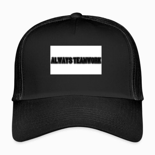 at team - Trucker Cap