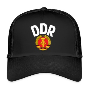 DDR - German Democratic Republic - Est Germany - Trucker Cap
