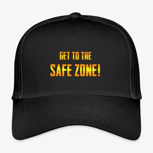 PUBG Get to the safe zone! - Trucker Cap